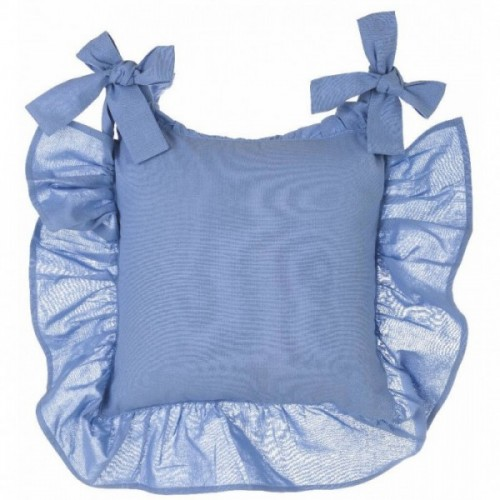 CUSHION COVER WITH FRILLS