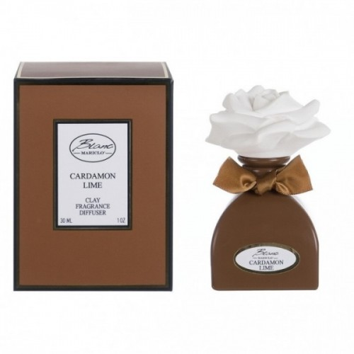 DIFFUSER WITH CLAY CARDAMON LIME (30ML)