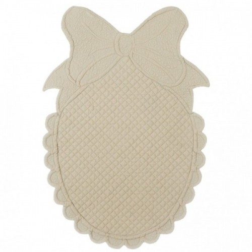 OVAL SHAPED PLACEMAT WITH BOW