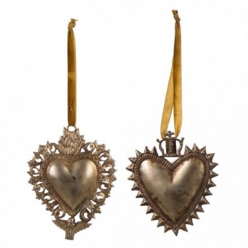 VOTIVE HEART DECORATION ASS.
