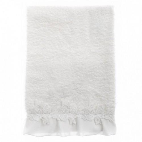 TOWEL SET WITH CROCHET