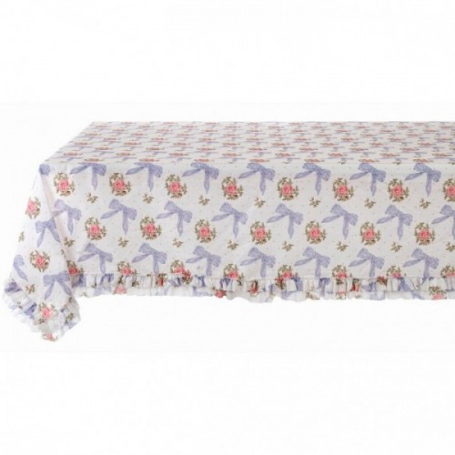 TABLE CLOTH WITH RUFFLES
