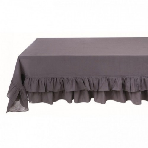 TABLE CLOTH WITH DOUBLE FRILLS 10/20